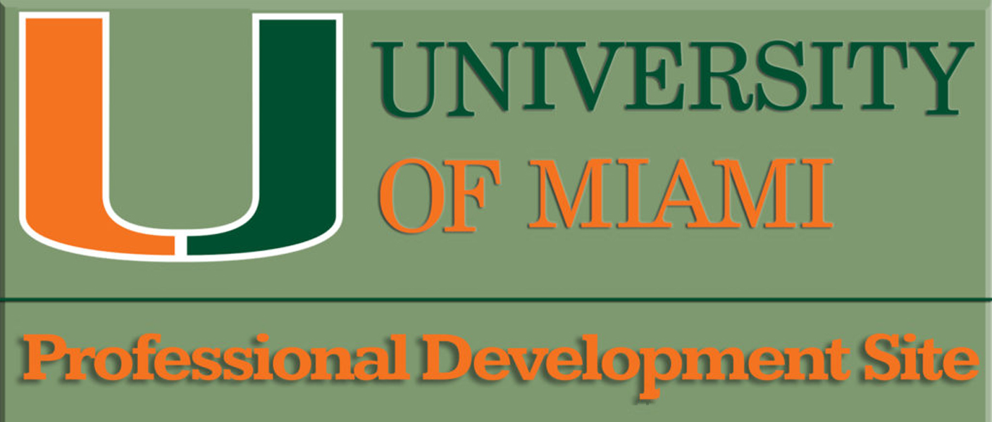 UM Professional Development Site